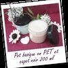 Test Fée AZ : Body butter fraise et framboise (Pot transparent avec capot)