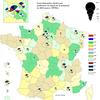 Cartographie de la demande d'asile en France en 2015