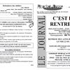 Petit Journal et fiche d'inscription 2014-2015