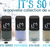"Collection ""It'so cold"" de LM Cosmetic"