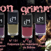 "Collection ""Grimm"" de LM Cosmetic"