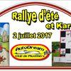 2 Juillet 2017  Rallye D'ETE  +  KARTING