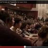 Magnifique assemblée à l'université Tolbiac mercredi soir!