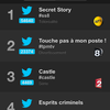 Programmes TV les plus tweetés lundi 21/09 (Followatch).