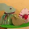 Lapin & oeufs de Pâques