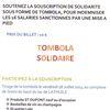 SOLIDARITE AUX 16 SALARIES DE ST DUPONT SANCTIONNES