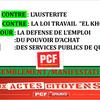 Appel à manifester le 31 mars de la section PCF de Brive