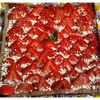 Tarte aux fraises aux 3 chocolats aux thermomix ou sans