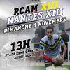 Dimanche 1er Novembre : Nantes se déplace à Aussillon