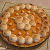 Tarte aux abricots meringués