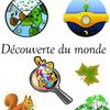 Page de garde cahier de découverte du monde CP - Ce1