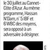 Coup de gueule : Affligeant le prochain adversaire de Michel Soro !