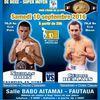 Championnat de France de boxe : Nicolas Dion face à Cédric Bellais