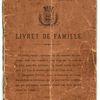 Livrets de Famille