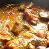 Curry de veau cuisiné aux épices de Madagascar