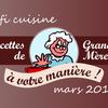 Le défi de cuisine du mois de mars