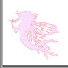 Fichier silhouette fée pour studio sst gratuit