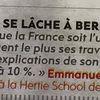 Macron, ce réac se lâche !