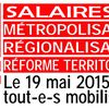 Action nationale des territoriaux le 19 mai