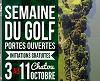 Initiation au golf sur l'Ile de Chatou