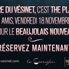 Soirée Beaujolais nouveau au théâtre du Vésinet : vendredi 18 novembre 2016 dès 20 heures