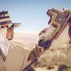 Photo du cavalier avec son cheval ( par Naim Charef)