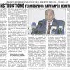 Route Djelfa-Laghouat: Instructions Fermes pour Rattraper le Retard
