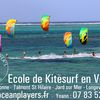 Une nouvelle école de kitesurf en Vendée !