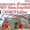 Concours d'entrée au CNFMETP de Kaffrine