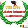 Concours Général 2016 - Clarification sur le classement des établissements