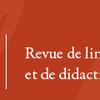 Lidil, revue de linguistique et de didactique des langues