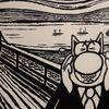 Le Chat et la peinture