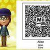 QR Code Tomodachi Life : Allen (ANB)