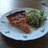 Quiche aux légumes et saumon fumé