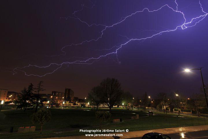 Photos d'orages et de foudre..