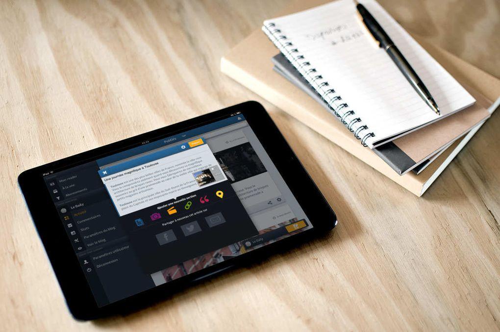 Update: OverBlog jetzt auch fürs iPad