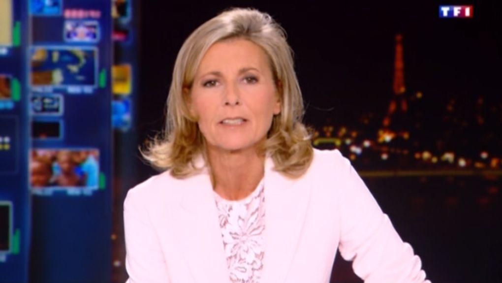 2013 10 13 - 20H00 - CLAIRE CHAZAL - TF1 - LE 20H