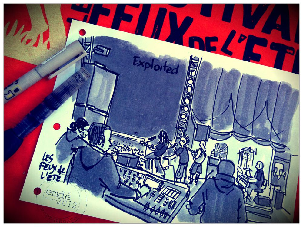 Les Feux de l'Eté 2012 / Carnet de festival