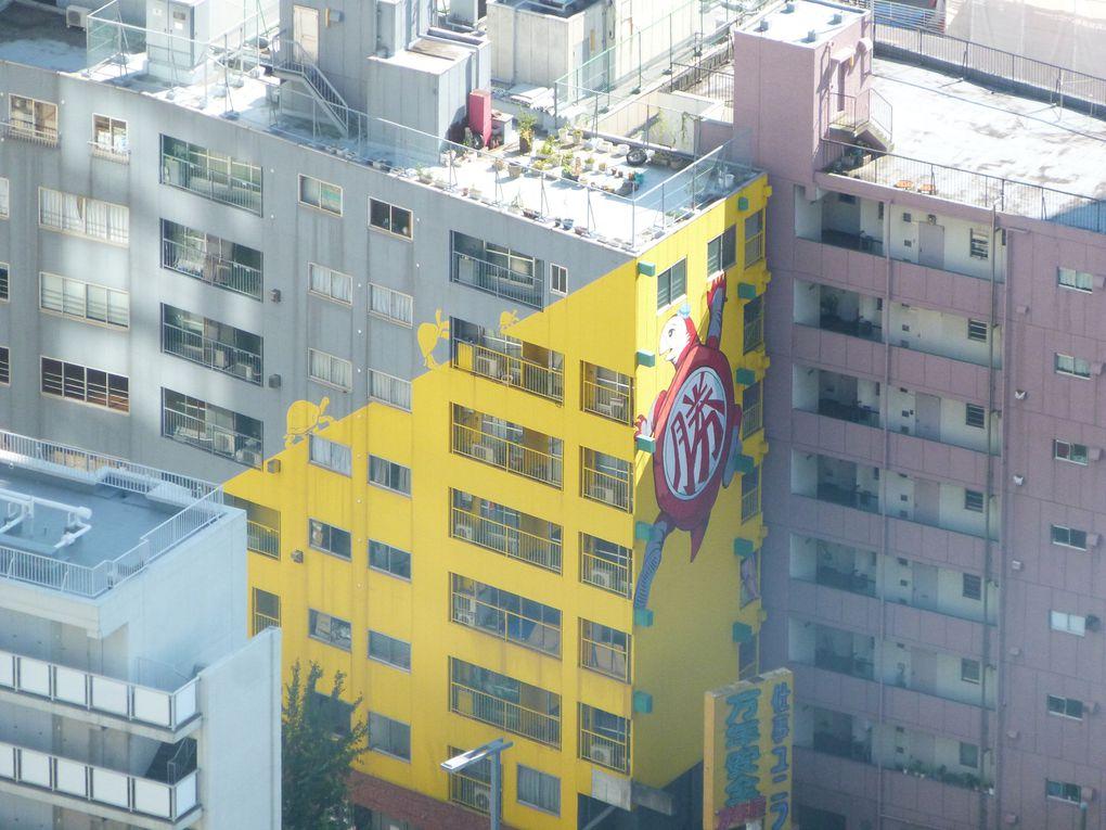 Bon alors là, on a la totallité des photos prises à Shinjuku et à la mairie. Tout expliqué serait trop long. Mais vous pouvez voir qu'en effet, ce fut amusant. Et que j'ai photographié des poubelles. Donc vous avez ma photo des poubelles et la photo de Charlotte où je photo graphies les poubelles. (Ah oui, 2 des photos, celles où je suis dessus, sont les siennes !) Sinon, des salles, des immeubres, des gens qui marchent... Bref ~