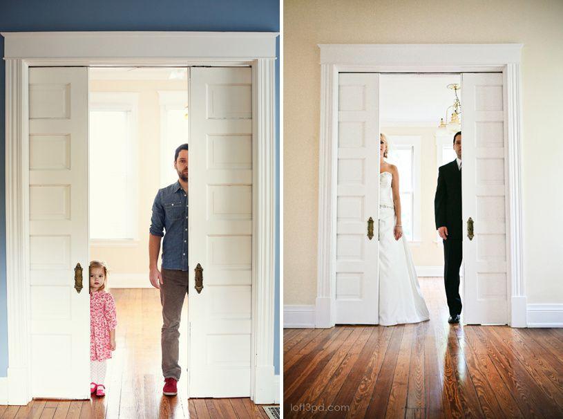 Photos buzz : Après la mort de sa femme, il refait ses photos de mariage avec sa fille de trois ans. Emouvant ou flippant ?