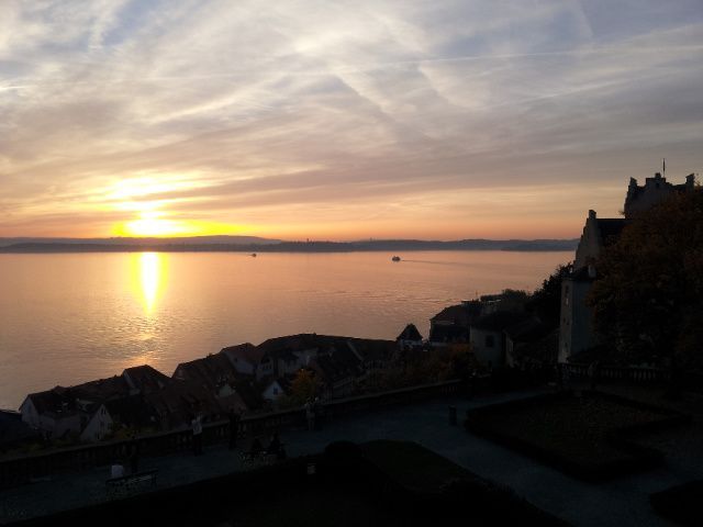 Back from Meersburg