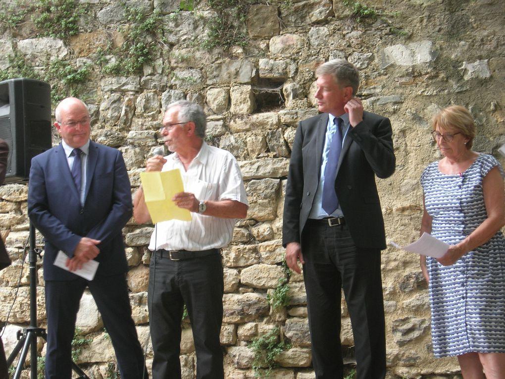 Inauguration de la Fontaine le 23 juin 2017