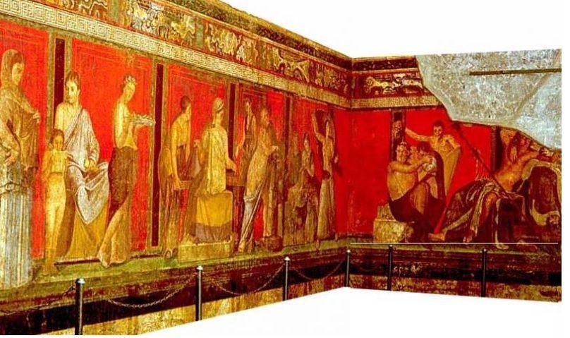 Recherche pour la réalisation de fresques