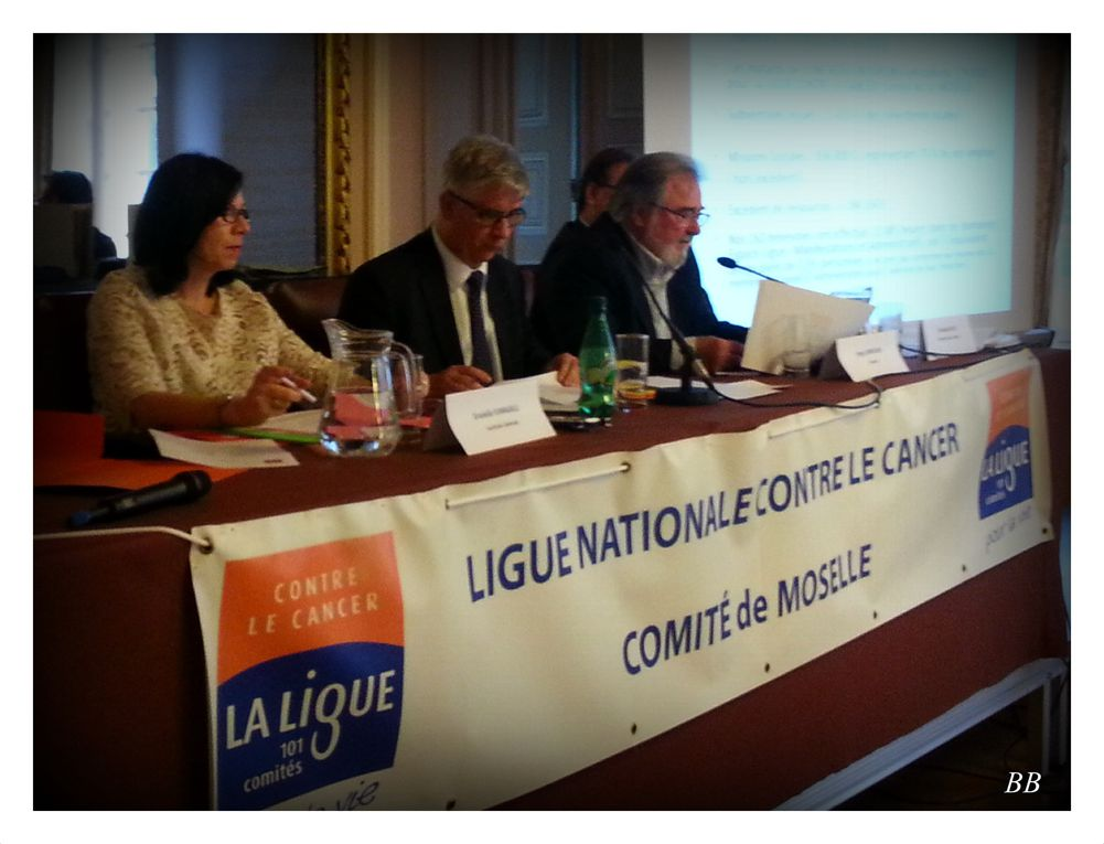 Ligue Contre le Cancer de Moselle AG du 17 avril 2015