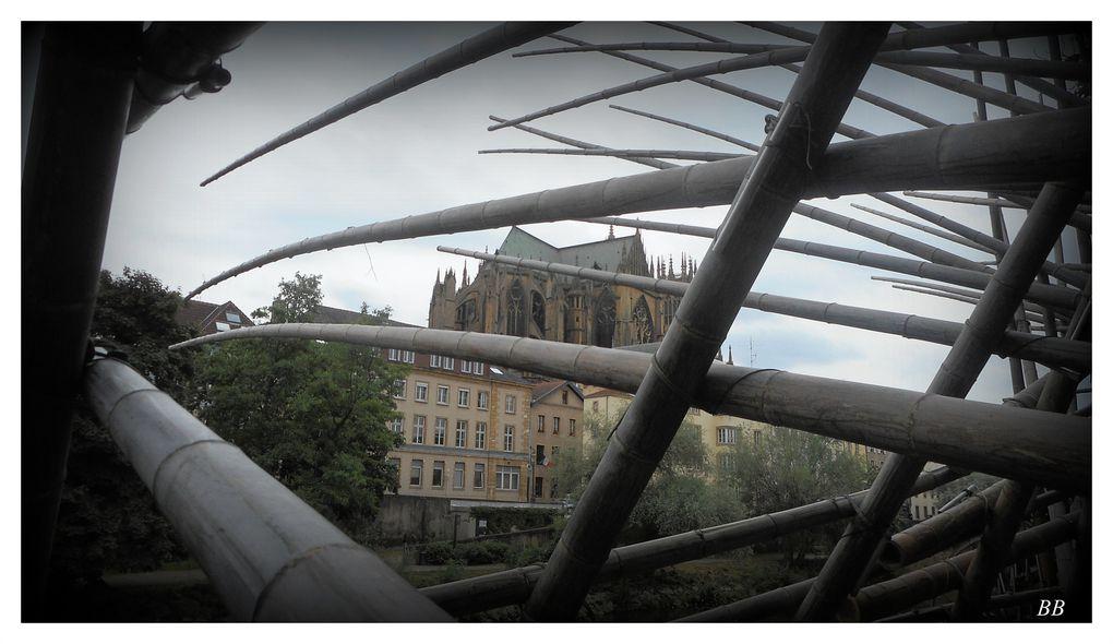 Ouverture du Sentier des Cabanes sonores 2015 à Metz