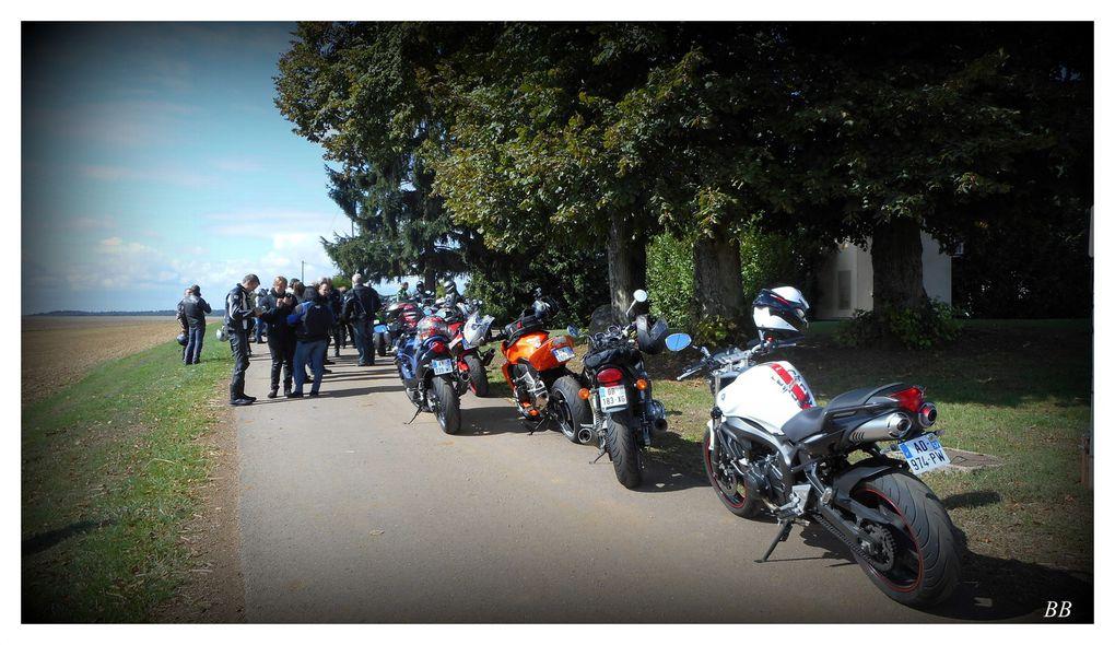 Rallye moto sécurité routière le dimanche 06 septembre 2015