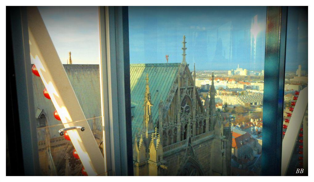 Metz Noël 2015 la Grande roue Place d'Armes