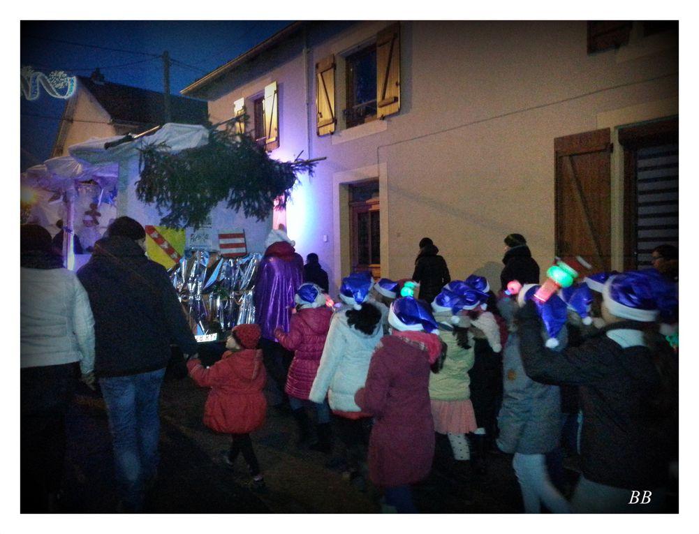 Peltre Saint Nicolas le 5 décembre 2015