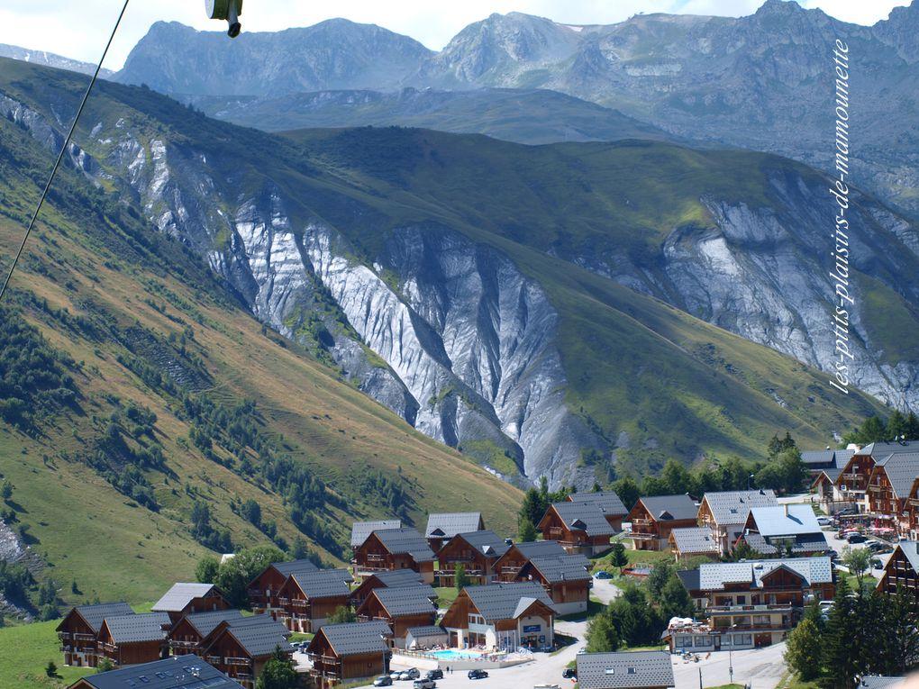 Carte de vacances de Savoie