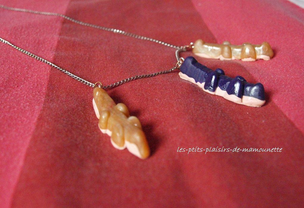 un collier croco d'Haribo